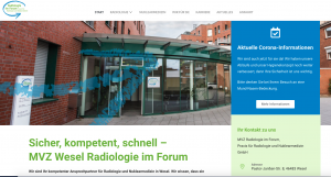 Read more about the article MVZ Radiologie im Forum mit neuer Website